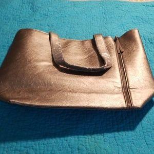 Neiman Marcus Bags - NWOT Neiman Marcus silver tote